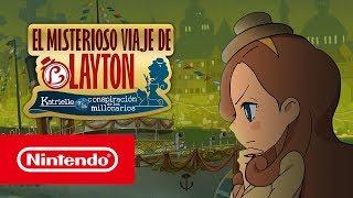Download EL MISTERIOSO VIAJE DE LAYTON™ - Tráiler de lanzamiento (Nintendo 3DS) Video