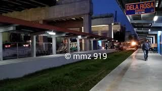 Download PNR Work Train passing Dela Rosa Station Video