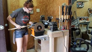 Download Lathe Stand With Pull Out Grinder Video