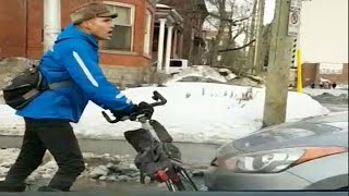 Download Caught on cam: Dispute between cyclist and driver in Ottawa Video