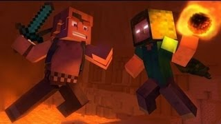 FNAF SONG ″The Puppet Song″ (Animated Minecraft Music Video