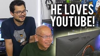 Download Teaching My Grandpa How to Use a PC!! WELCOME TO THE PCMR! Pt. 2 Video