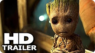 Download GUARDIANS OF THE GALAXY 2 ″Baby Groot vs Baby Dinosaurs″ Trailer (2017) Chris Pratt Marvel Movie HD Video