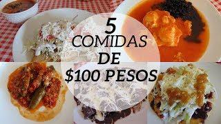 Download Menú Semanal #14 | 5 Comidas por $100 Pesos | Erika Blop Video