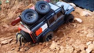 Download TRAXXAS TRX4 with 3D printed accessories 2 Video