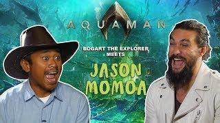 Download JASON MOMOA SAID I KILLED IT (Bogart The Explorer Meets Aquaman) Video
