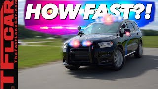Download Can You Really Outrun The New Dodge Durango Pursuit Police Car? We Find Out! Video