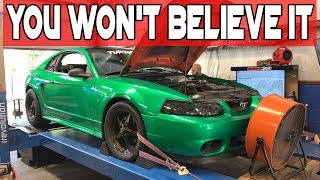Download How much power does a Junkyard Built 4V Engine Make? - Turdzilla Video