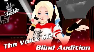 Download The Voice 2017 Blind Audition - Harley Quinn - Chandelier Video