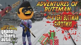 Download Adventures of Buttman #4: A VERY BUTTMAN CHRISTMAS (Annoying Orange GTA V) Video