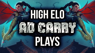 Download High Elo AD CARRY Plays | League of Legends Video