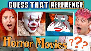 Download GUESS THAT HORROR MOVIE REFERENCE! (React) Video
