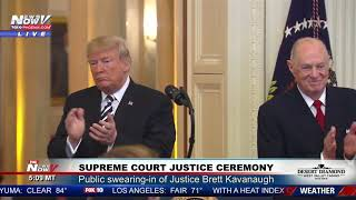 Download FULL CEREMONY: Justice Brett Kavanaugh Swearing-In At The White House Video