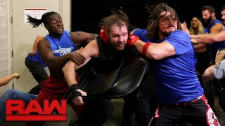 Download Monday Night Raw falls under siege by SmackDown Superstars: Raw, Oct. 23, 2017 Video