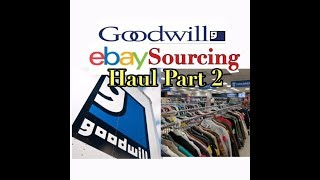 Download Goodwill eBay Sourcing Haul | Online Reseller | Part Two Video