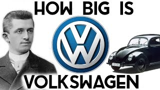 Download How BIG is Volkswagen? (They own Lamborghini, Bentley, Bugatti, Porsche..) Video