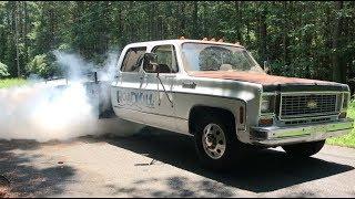Download Finnegan's Garage Ep.51: The Ramp Truck Cummins Swap Part 2…Burnouts! Video