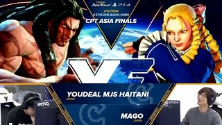 Download SFV: YOUDEAL MJS Haitani vs Mago - CPT Asia Finals Top 8 Losers Final - CPT2016 Video