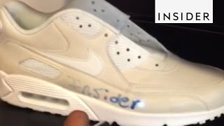 Download Draw on These Color-Changing Shoes With a Laser Video