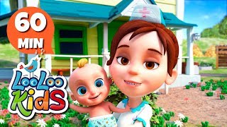 Download The Farmer in the Dell - Learn English with Songs for Children | LooLoo Kids Video