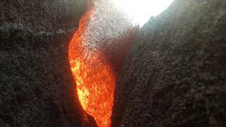 Download GoPro Gets Melted by Lava and Survives Video