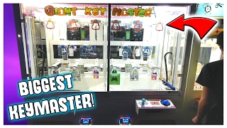 Download THE BIGGEST KEYMASTER EVER! || Arcade Games Video