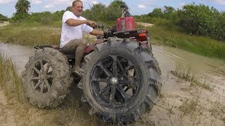 Download Honda on 40″ BKTs! vs bounty-hole Video
