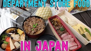 Download FEASTING at Japanese DEPARTMENT STORE Mitsukoshi in Tokyo Japan Video