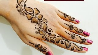 Download Easy Quick Trendy Bel Mehndi Designs For Hands|Beautiful Shaded Mehendi By MendiArtistica Video