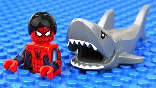 Download Lego Spider-Man Shark Attack Video