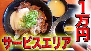 Download サービスエリアで1万円食べきるまで帰れま10!!! Video