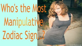 Download Who's the Most Manipulative.. Zodiac Sign? Video