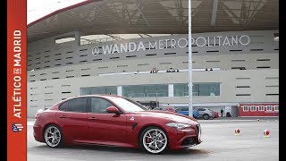 Download Espectacular Test Drive de Alfa Romeo en el Wanda Metropolitano Video