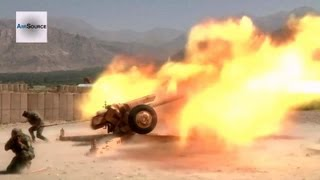 Download Afghans Training on the Soviet 122 mm Howitzer 2A18 (D-30) Video