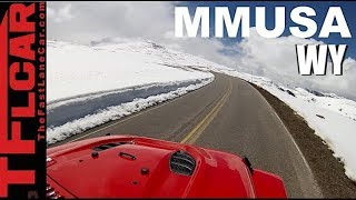 Download Motor Mountain Monday: Snowbound on Wyoming's Highest Mountain Top Video