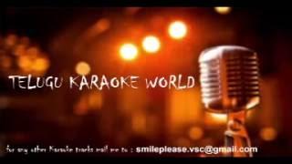 Download Manohara Naa Hrudayamuni Karaoke    Cheli    Telugu Karaoke World    Video