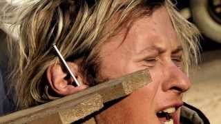 Download Hammer And Nail Ear Piercing (The Dudesons) Video