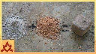 Download Primitive Technology: Wood Ash Cement Video