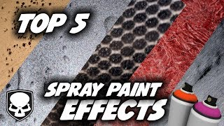 Download Top 5 Spray Paint Effects - 2017 - super easy tricks Video