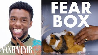 Download Black Panther Cast Touches a Chameleon, a Guinea Pig, and Other Weird Stuff | Fear Box | Vanity Fair Video