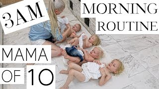 Download MY MORNING ROUTINE with 10 CHILDREN ( PART 2/3 ) Video