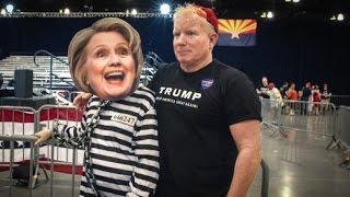 Download Wie Trump den Hass auf Clinton schürt: ″Sperrt sie ein! Tötet sie!″ Video