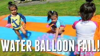 Download WATER BALLOON FAIL! - May 26, 2017 - ItsJudysLife Vlogs Video
