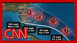 Download Tropical Storm Dorian to hit Puerto Rico, on track to hit Florida Video
