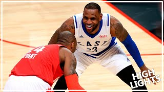 Download Kobe Bryant vs. LeBron James LAST ASG Duel (2016.02.15) - Mamba for 10 Pts, 7 Ast; King for 13 Pts Video