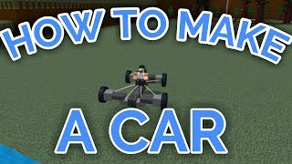 Download HOW TO MAKE A CAR THAT TURNS! | Build A Boat For Treasure | ROBLOX Video