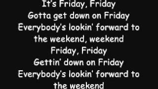Download Rebecca Black - Friday (Lyrics) Video