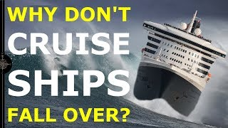 Download WHY DON'T CRUISE SHIPS TIP OVER? | An introduction to ship stability Video