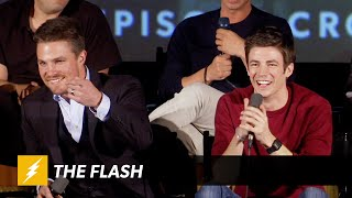 Download The Flash | ARROW VS FLASH Panel | The CW Video