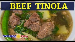 Download Beef Tinola   Tinolang Baka   Filipino Beef Soup with Green Papaya Video